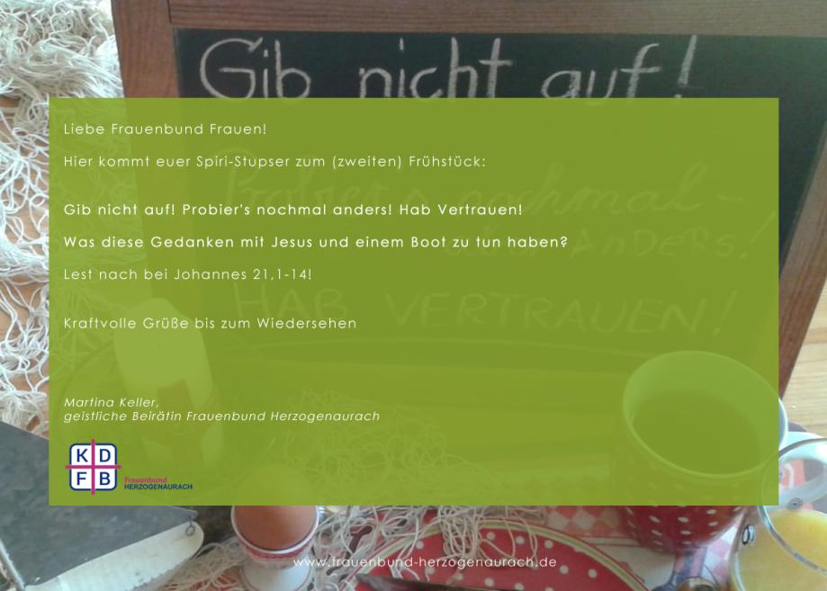 Frauenbund Herzogenaurach - Spiri-Stupser